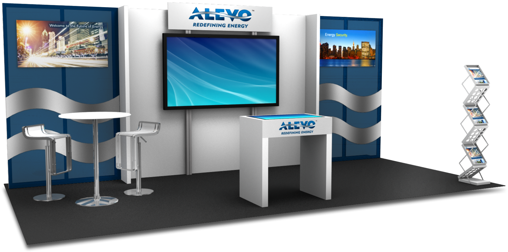 Inline Trade Show Displays | Apple Rock Trade Show Displays