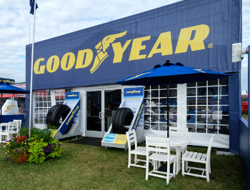 Goodyear event built by Apple Rock
