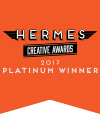 Apple Rock Hermes Platinum Award Badge