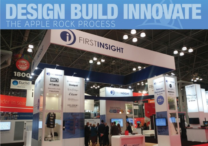 The Apple Rock Trade Show Booth Display and Branded Space Design Process Image
