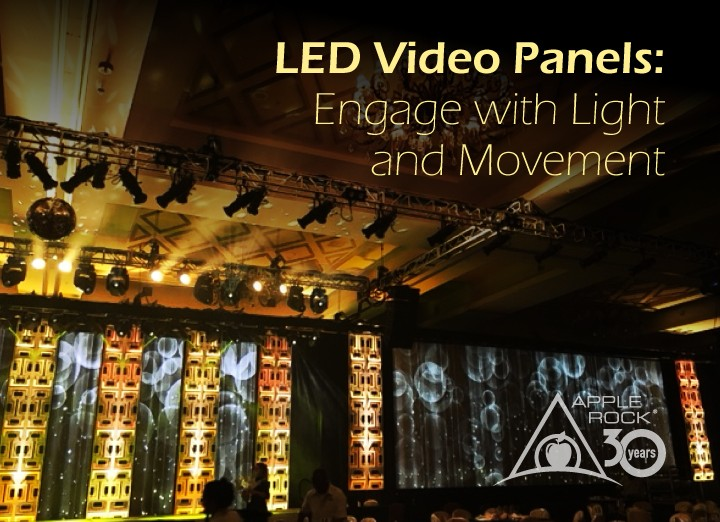 LED Video Panels from Apple Rock