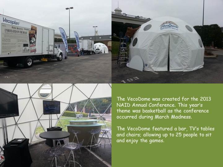 Vecoplan's 2013 NAID VecoDome