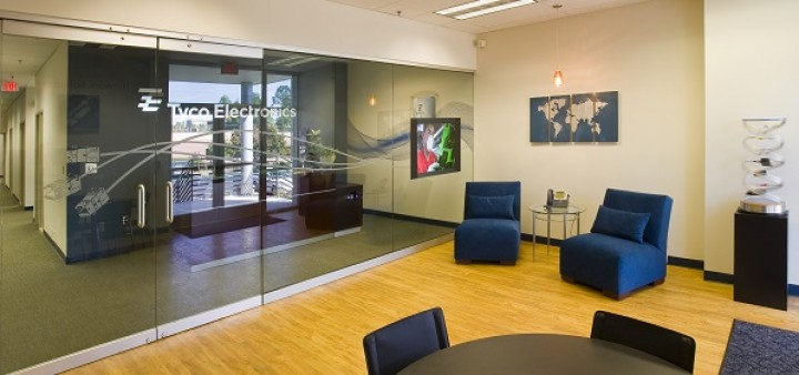 Tyco Branded Lobby by Apple Rock