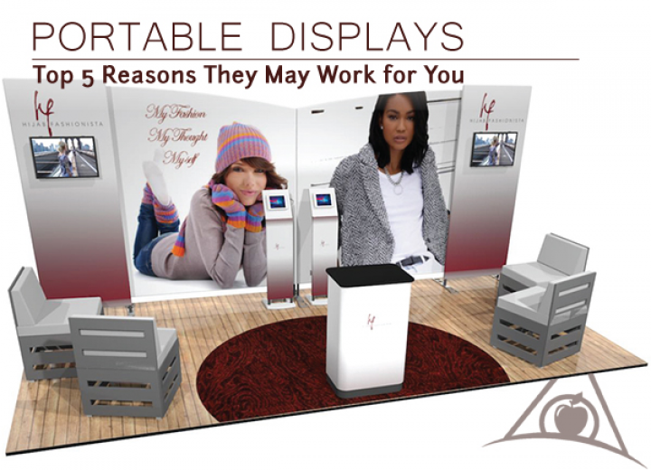 Portable and Pop Up Displays from Apple Rock