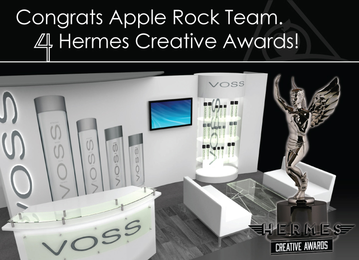 Apple Rock wins 4 more Hermes Awards