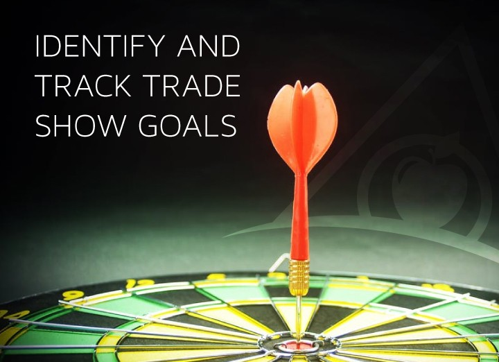 Best practice tracking trade show goals