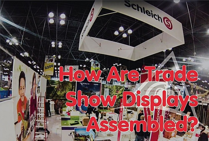 Schleich Display New York Toy Fair Assembly
