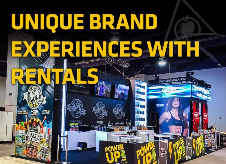 Renting Trade Show Displays Allows for Unique Brand Marketing Events