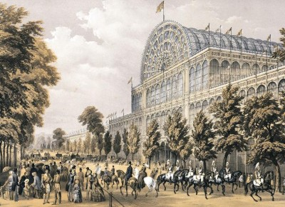 The Great Exhibition and Crystal Palace - first trade show