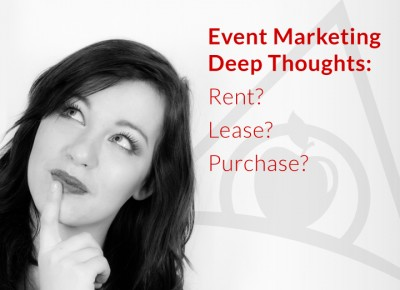 Rent, lease or buy your trade show exhibit from Apple Rock?