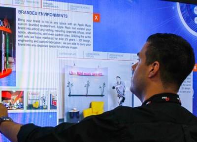 trade show interactive technology open house