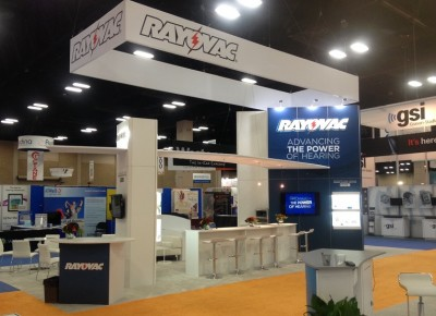 Rayovac Custom Rental Display