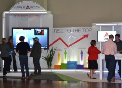 interactive trade show technology open house