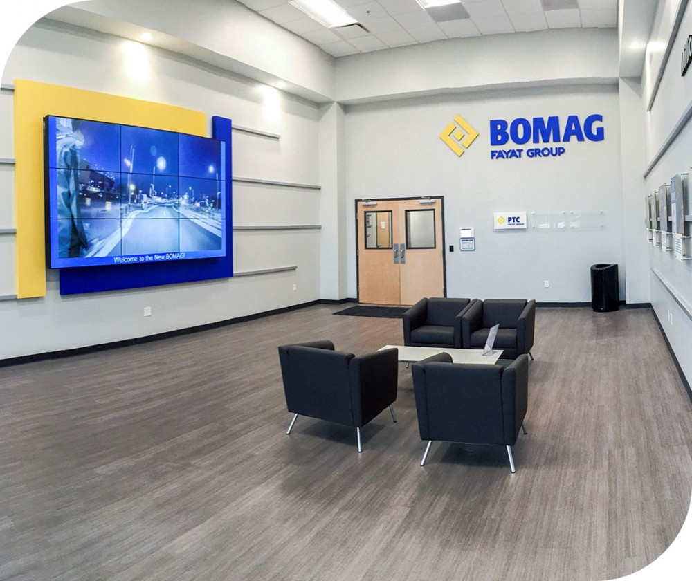 Corporate Branded Interior Environment