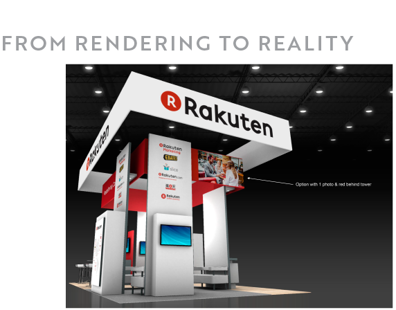 Exhibition Booth Number : Trade show booth display design and exhibit