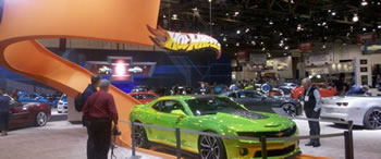 Chevrolet and Hot Wheels make a lasting impression at SEMA 2011.